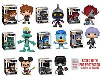 Funko Pop! Disney Kingdom Hearts 3 - Individual  w/Protector Case- IN STOCK-