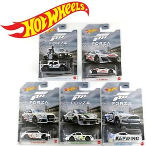 HOT WHEELS 2020 FORZA MOTORSPORT DIECAST CARS SCALE 1:64 FORD PORSCHE ACURA CAR