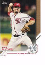 "2017 Topps Update Salute ROOKIE 5""x7"" #/49 Koda Glover Washington Nationals"