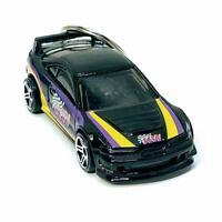 Hot Wheels Custom 2001 Black Acura Integra GSR 1:64 Diecast Keychain Gift
