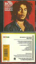 CD - BOB MARLEY AND THE WAILERS : REBEL MUSIC / REGGAE