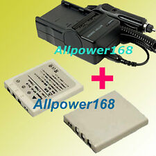 Battery + Charger For NP-40N NP-40 NP40 Fujifilm FinePix F460 F480 Lithium-ion