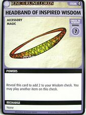 Pathfinder Adventure Card Game - 1x Headband of Inspired Wisdom - Fortress of