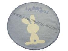 Tapis chambre bébé Lapidoux Lilou Miaka tapis de sol bleu   110 cm