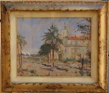 09 Filippo De Pisis - Il Negresco di Nizza - olio su cartone - cm. 50x40