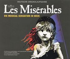 LES MISERABLES -2 CD - DIE MUSICAL SENSATION IN WIEN - Deutsche Originalaufnahme