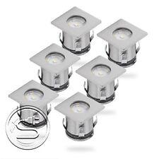 Ranex LED Bodeneinbaustrahler 6er Set 5000.476 bis 1,2t belastbar