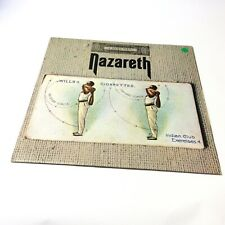 Nazareth 'Exercises' TOPS103 UK Mountain Pressing Vinyl LP Rare Factory Sample!!