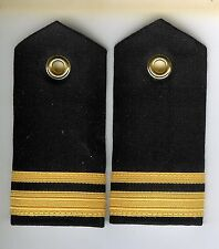Pair Obsolete Canadian Navy Sub Lieutenant Female Shoulder Boards