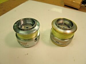 Lot of 2  DAIWA Tournament 3000A ZX SPINNING FISHING REEL EXTRA SPOOLS