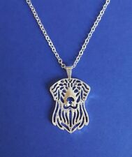 Golden Retriever Dog, Cute Necklace, Pendant, Chain 18""