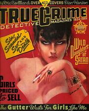 TRUE CRIME DETECTIVE MAGAZINES  1924 - 1969