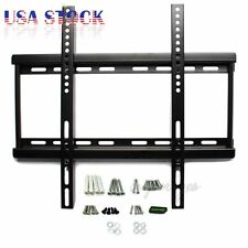 "TV Wall Mount Bracket LCD LED Plasma Flat 26"" 27 32 37 38 40 42 46 47 50 55 Inch"