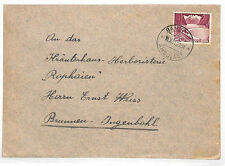 VV224 1951 Switzerland RAILWAY *Ambulant* Brunnen Ingenbohl {samwells-covers}