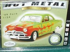 TESTOR's 1949 FORD CUSTOM COUPE MODEL KIT 1/24 SKILL 2