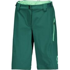 PANTALONCINO DONNA SCOTT SHORT W'S TRAIL 10 LS/FIT W PAD colore VERDE taglia M