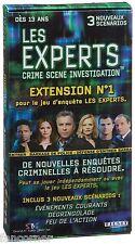 Jeu Les Experts Jeu de Société Extension Neuf sous blister CSI board game