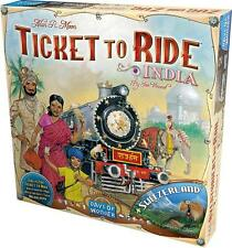 India & Switzerland Ticket To Ride Map Collection #2 Game DOW DO7214 Expansion