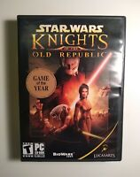 Star Wars: Knights of the Old Republic (PC, 2003) COMPLETE IN BOX MINT
