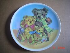 Co Ordinated Ceramics Collectors Plate THE THREE BEARS
