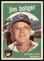 1959 Topps Baseball Jim Bolger Chicago Cubs #29