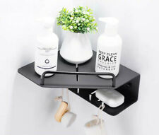 Bathroom Shelf Aluminum Storage Rack Corner Holder Shower Shampoo Basket Hot