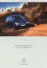 Mercedes Viano Marco Polo Prospekt 2004 1/04 Reisemobil Wohnmobil Camper