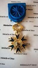 Ordre National du Mérite Officier - Neuve - Bronze doré (FRA 017)