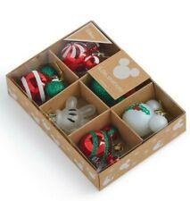 Disney 6 x Mickey Minnie Mouse Christmas Baubles Xmas Tree Decorations Primark