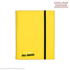 Ultra-Pro Yellow Pro Binder - Includes 20 Trading Card Pages to Hold 360 Cards