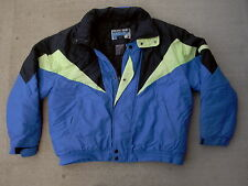 Pacific Trail Active Vintage Neon Ski Jacket Barrier Cloth 1980's 90's size: L