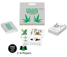 DELUXE WEED! NEW Version! Double Deck Adult Card Games Party Group Drinking