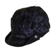 Bnwt Authentic Oakley Floral Cabbie Cap Hat New With Tags S/M Black