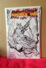 HARLEY QUINN SUICIDE SQUAD #1 APRIL FOOLS SPECIAL JIM LEE VARIANT DC COMICS