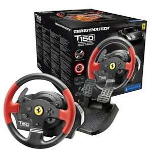Thrustmaster T150 Ferrari Edition, Steering PS4/PS3/PC Force Feedback, Licenc