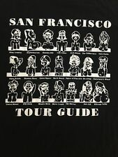San Francisco Vintage Novelty T Shirt Size Large 80's/90s Breast/boobs Cheeky