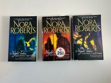 Nora Roberts Complete Night Series 3 PB Lot
