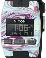 PRE-OWNED $75 Nixon Men's 'Comp S' Plastic and Silicone Automatic Watch A3362151