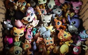 Littlest Pet Shop Random 5 pc Pet Lot Nice Cute Ready for Gift Giving Cat or Dog