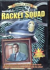Racket Squad Classic TV Series - 4 Episodes (DVD) Reed Hadley WORLD SHIP AVAIL