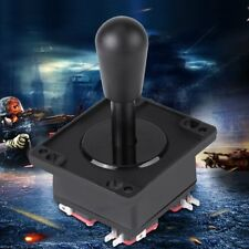 American Competition Style Arcade Joystick BLACK 4/8 Way Elliptical Handle Black