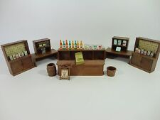 Sylvanian Families Vintage Village Store Accessories - Shop Furniture Till Jars