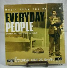 Music From The HBO Film: Everyday People PROMO AUDIO CD Movie 4trk McKay w/ Art!