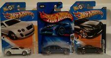 Hot Wheels 1/64 Lot of 3: Bentley, Maserati, Infiniti