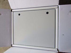 RS IP65 Steel Wall Box, Electric Box, Grey, 600 x 300 x 200mm - 7587107
