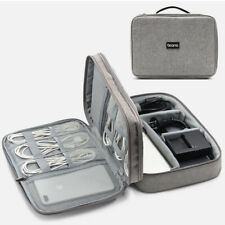 Portable Cable Bag Organizer Wires Charger USB Gadget Case Travel Storage Pouch