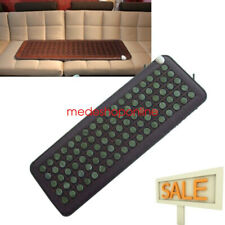 50*150Cm Natural Jade Tourmaline Stones Negative Ions InfraRed Heating Pad Usa