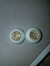 16mm Bjd Eyes Sparkle Gold