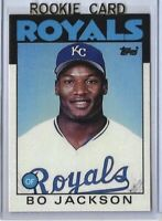 1986 Topps Traded Bo Jackson #50T Rookie Baseball Card Kansas City Royals MLB