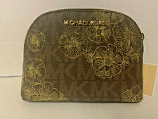 NEW! MICHAEL KORS Jet Set Travel Large Pouch-Brown